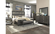 Klaussner Music City 4-Piece King Bedroom Set