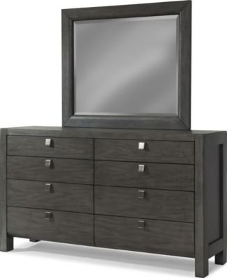 Klaussner Music City Dresser with Mirror