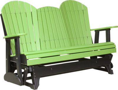 Amish Outdoors Deluxe Adirondack Outdoor Glider Sofa