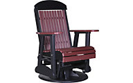 Amish Outdoors Classic High-Back Outdoor Swivel Glider Chair