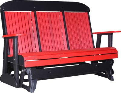 Amish Outdoors Classic High-Back Outdoor Glider Sofa