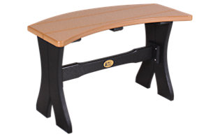Amish Outdoors 28 Inch Table Bench
