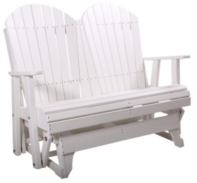 Amish Outdoors Deluxe Adirondack Gliding Loveseat