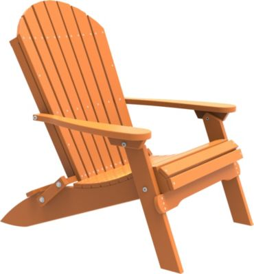 Amish Outdoors Folding Adirondack Chair