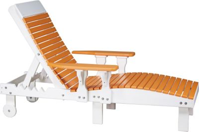 Amish Outdoors Outdoor Chaise Lounge Chair