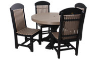 Amish Outdoors Table & 4 Chairs