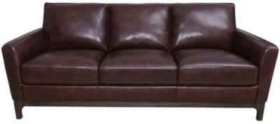 Kuka 5178 Collection 100% Leather Sofa