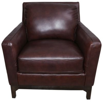 Kuka 5178 Collection 100% Leather Chair