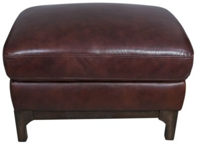 Kuka 5178 Collection 100% Leather Ottoman