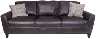 Kuka 5259 Collection 100% Leather Sofa