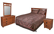 Lang Ashland 4-Piece Queen Headboard Bedroom Set