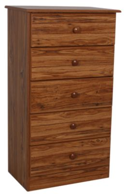 Lang Special Collection Hickory 5-Drawer Chest