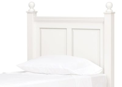 Lang Madison White Twin Headboard