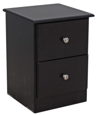 Lang Special Collection Black Nightstand