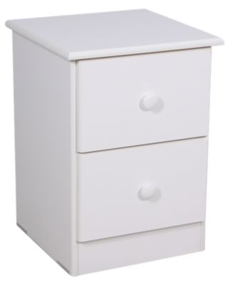 Lang Special Collection White Nightstand