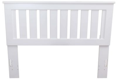 Lang Shaker White Twin Headboard