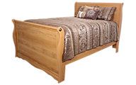Lang Oak Creek King Sleigh Bed