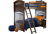 Legacy Classic Academy Cinnamon Twin/Twin Bunk Bed