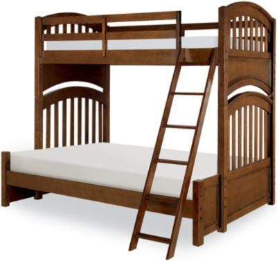 Legacy Classic Academy Cinnamon Twin/Full Bunk Bed