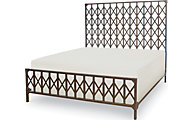 Legacy Classic Metalworks King Metal Bed