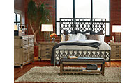 Legacy Classic Metalworks 4-Piece Queen Bedroom Set