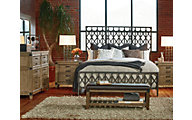 Legacy Classic Metalworks 4-Piece King Bedroom Set