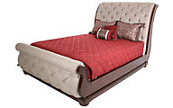 Liberty Cotswold King Upholstered Sleigh Bed