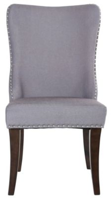 Liberty Platinum Formal Grey Side Chair