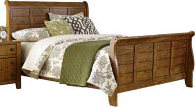 Liberty Grandpa's Cabin Queen Sleigh Bed