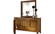Liberty Grandpa's Cabin Dresser with Mirror
