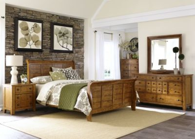 Liberty Grandpa's Cabin 4-Piece King Bedroom Set