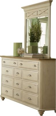 Liberty Ocean Isle Dresser with Mirror