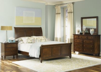 Liberty Hamilton 4-Piece King Sleigh Bedroom Set