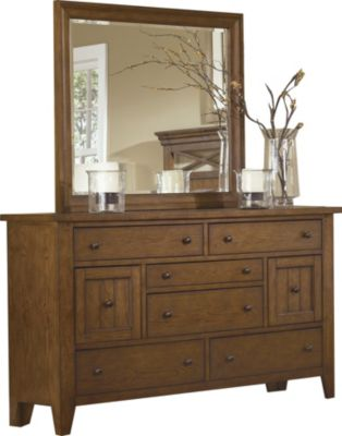 Liberty Hearthstone Dresser with Mirror