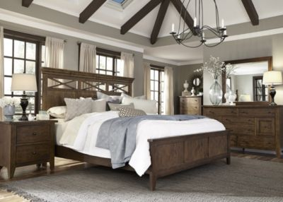Liberty Hearthstone 4-Piece King Panel Bedroom Set