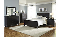 Liberty Hamilton III 4-Piece King Sleigh Bedroom Set