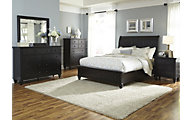 Liberty Hamilton III 4-Piece King Storage Bedroom Set