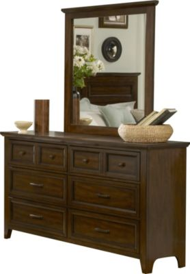 Liberty Laurel Creek Dresser with Mirror