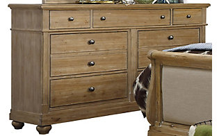 Liberty Harbor View 7-Drawer Dresser