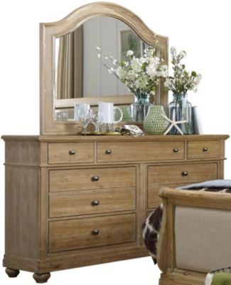 Liberty Harbor View 7-Drawer Dresser with Mirror