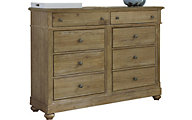 Liberty Harbor View 8-Drawer Dresser