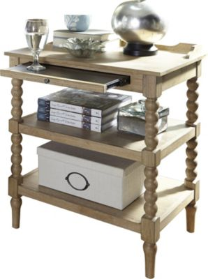 Liberty Harbor View Open Nightstand
