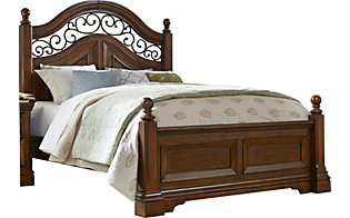 Liberty Laurelwood King Poster Bed