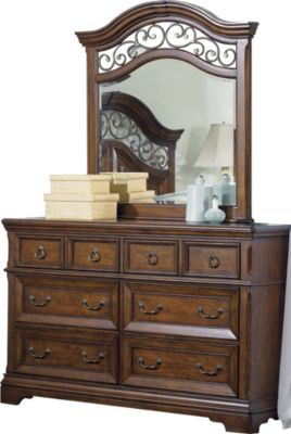 Liberty Laurelwood Dresser with Mirror
