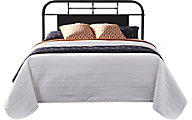 Liberty Vintage Series Black Twin Metal Headboard