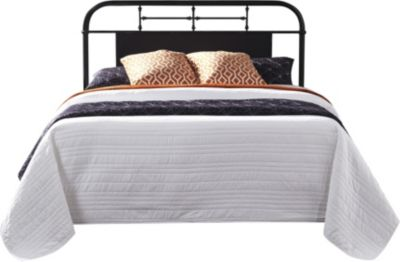 Liberty Vintage Series Black Full Metal Headboard