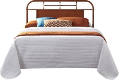 Liberty Vintage Series Orange King Metal Headboard