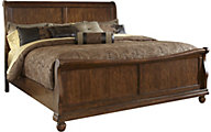 Liberty Rustic Traditions King Sleigh Bed