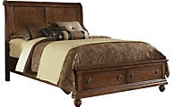 Liberty Rustic Traditions King Storage Bed