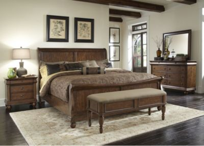 Liberty Rustic Traditions 4-Piece Queen Bedroom Set